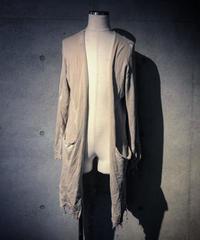 Damage long cardigan