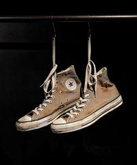 Discoloration Burn Vintage High cut Sneaker