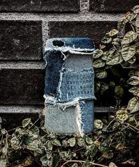 Various denim patchwork iPhone case