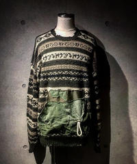 Military Pocket Knit