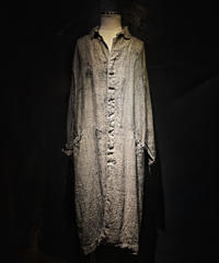 Vintage damage dye long coat