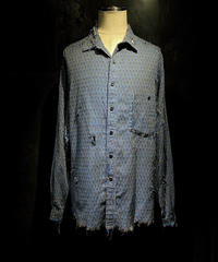 Vintage damage pattern shirt #1