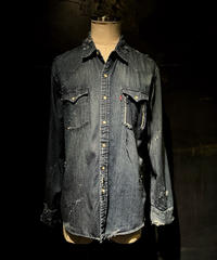 KIYOHARU × RESURRECTION Denim shirt #9