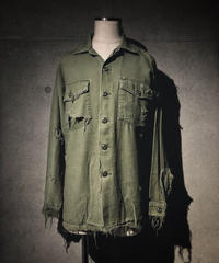 Vintage damage military shirt