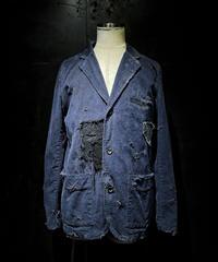 Vintage damage & patchwork corduroy jacket