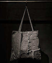 ONE JEANS → ONE BAG project  [  BLACK DENIM TOTE BAG  ]  ※13個限定