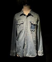 KIYOHARU × RESURRECTION Denim shirt #11
