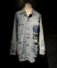 KIYOHARU × RESURRECTION Denim coverall jacket #3