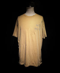 KEEP SMLING TEE (OLD YELLOW)