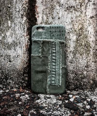 Various military patchwork iPhone case