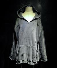Vintage damage navy hoodie