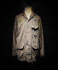 Vintage damage dye cover all jacket