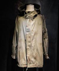 Vintage damage military hoodie