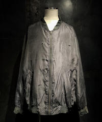 Damage vintage military blouson (BLACK)