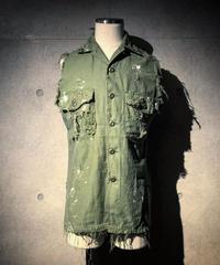 Vintage damage military Vest