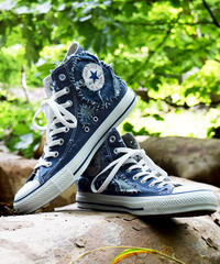Denim Patchwork Embroidery Sneaker