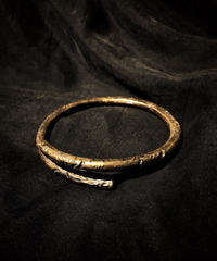 Derelict brass bangle