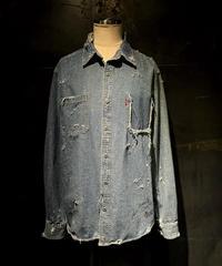 KIYOHARU × RESURRECTION Denim shirt #8