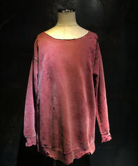 Faded pink sweat shirt