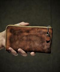 Italian shrink leather Wallet