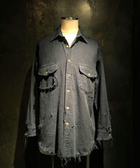 Damage navy shirt