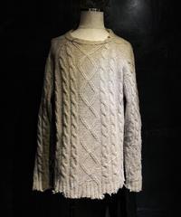 Damage & paint knit