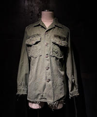 Damage vintage military shirt #2