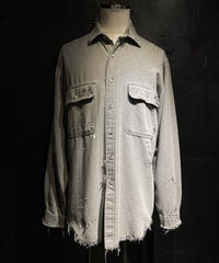 Vintage white damage shirt