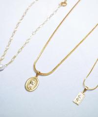 3連ゴールドネックレス(NO.N176)