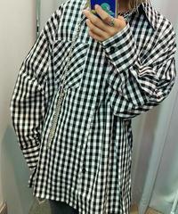 ギンガムチェックシャツ(NO.3629)