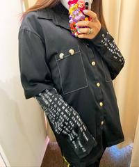 袖ロゴシャツ(NO.4275)