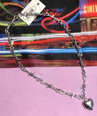 ハート&鎖ネックレス(NOA-10217)