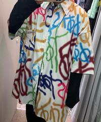 スプレーペイントシャツ(NO.3894)