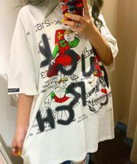 落書きペイントTシャツ(NO.3618)