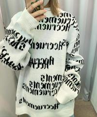英ロゴセーター(NO.4476)