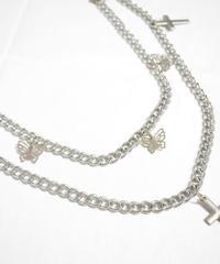 バタフライ十字架ウォレットチェーン(NO.A10056)