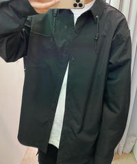 襟紐シンプルシャツ(NO.3595)
