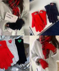 wool gloves/ 4種類