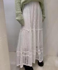 ☆即納☆mole lace long skirt