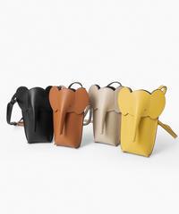 elephant  leather mini shoulder/4 color