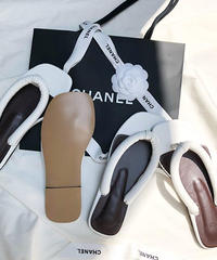 pu leather Thong sandals