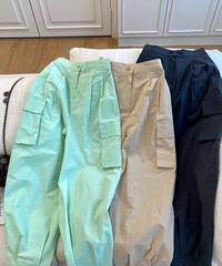 cotton cargo pants/4 color