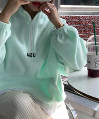 USAフリース pullover/3color