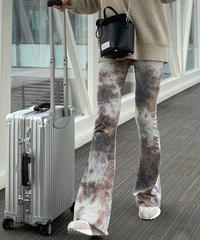 tie-dye leggings  pants 2 color