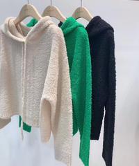 compression knit  hoody/3色
