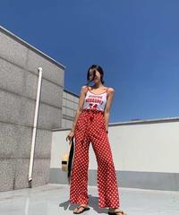 frill リボンdot pants