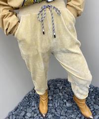 コーデュロイjogger pants