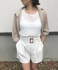 cotton rayon culotte ▫️white▫️