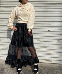 soft leather×シースルーsk