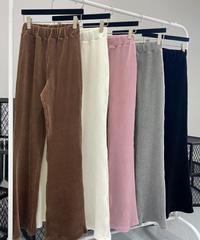 corduroyレギンスpants/4 color